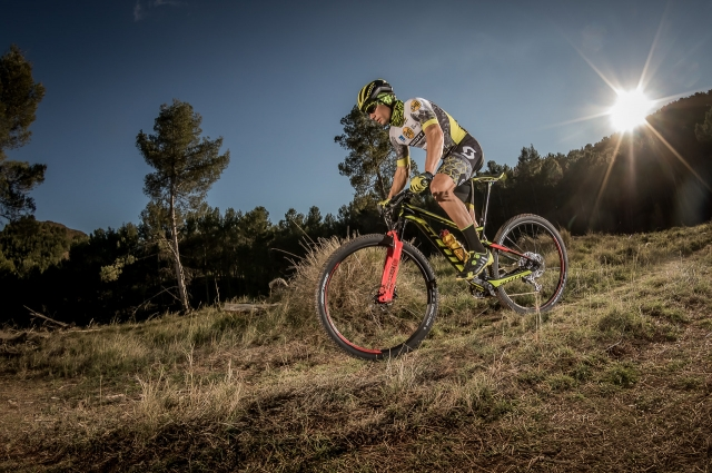 """An incredible organisation and Mountain Bikers from all over the world with a very high level"""